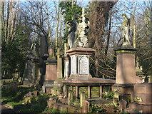 TQ3386 : Abney Park Cemetery, Stoke Newington by Dave Pickersgill