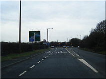 SD4964 : A683 at M6 junction by Colin Pyle