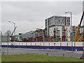 SK5739 : Nottingham Station tramway bridge - 5 by Alan Murray-Rust