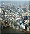 TQ3280 : Cannon Street station and beyond, from The Shard by Rob Farrow