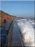 SX9777 : Waves crashing at Dawlish by David Smith