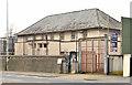J3479 : Former Greencastle police station, Belfast by Albert Bridge