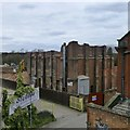SK5336 : Demolishing Beeston Maltings by David Lally