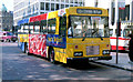 "J3373 : ""The Buzz"" bus, Belfast by Albert Bridge"