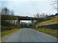 SD4180 : Back O' Th' Fell Road passing under the A590 by Alexander P Kapp