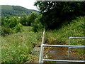 ST0799 : Site of Aberfan railway station by Jaggery