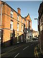 SP2865 : 1 Chapel Street and side of 7 Smith Street, Warwick by Robin Stott