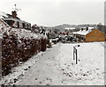 ST3091 : A wintry branch of Claremont, Malpas, Newport by Jaggery