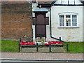 SU9993 : War Memorial, High Street, Chalfont St Giles by Alexander P Kapp