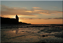 NS3119 : Greenan Sunset by Mary and Angus Hogg