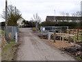 SK5434 : Fox Covert Lane by Alan Murray-Rust