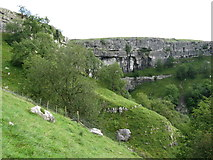 SD8964 : Malham Cove from the Pennine Way by Dave Spicer