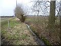 TL3961 : Footpath to Huntingdon Road by Marathon