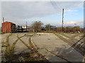 TQ4079 : Disused rail tracks at Cory's boatyard by Stephen Craven