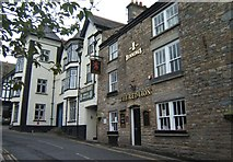 SD6592 : The Red Lion and the White Hart, Sedbergh by Barbara Carr