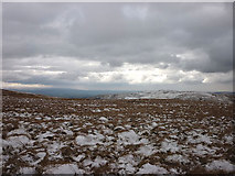 SD6782 : Snow-covered moorland, Barbon High Fell by Karl and Ali