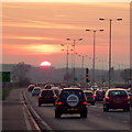 SO8119 : Into the sunset by Jonathan Billinger