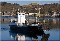 NM8529 : Eigg in Oban bay by The Carlisle Kid