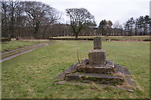 SK0972 : The old cross at King Sterndale by Bill Boaden