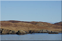 HU4962 : Muckle Stack and Flat Stack, Levaneap by Mike Pennington