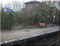 SJ8583 : Platform, Handforth Railway Station by JThomas