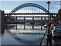 NZ2563 : Newcastle Townscape : Bridges Over The Tyne by Richard West