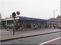 TQ3479 : Bermondsey Underground Station, Jamaica Road SE16 by Robin Sones
