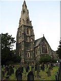 NY3704 : St Mary's church, Ambleside by David Purchase