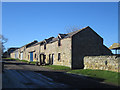 NU0147 : Houses converted to farm sheds, Scremerston Town Farm by Graham Robson