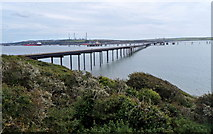 SM8804 : Pipeline to a jetty, Milford Haven by Jaggery