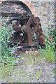 SS6695 : Swansea Museum Store - steam crane by Chris Allen