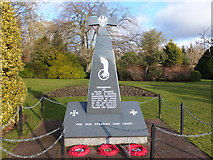 NT7853 : Memorial to Polish Soldiers, Duns by Barbara Carr