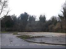TQ7668 : Lampart Centre, Brompton - No more! by David Anstiss