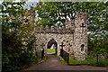 TQ2550 : Reigate Castle Gateway by Ian Capper