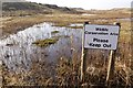 SJ1084 : Wildlife Conservation Area at Gronant Dunes SSSI by Jeff Buck