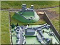 SY9582 : Corfe Castle: model village within the model village by Chris Downer