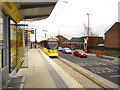 SJ9098 : Droylsden Tram Station by David Dixon