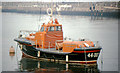 "O2428 : The ""John F Kennedy"" lifeboat, Dun Laoghaire by Albert Bridge"