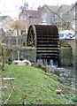 SO7607 : Fromebridge Mill - waterwheel by Chris Allen