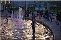 SE1632 : The Mirror Pool, City Park, Bradford by Phil Champion