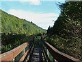 NX4770 : Looking towards the Glen of the Bar car park by Ann Cook