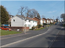 ST3090 : Houses on the north side of Westfield Drive, Malpas, Newport by Jaggery