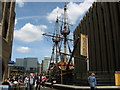 TQ3280 : The Golden Hinde by Stephen Armstrong