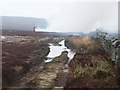 NY9452 : Heather burning at Haugh Edge by Oliver Dixon