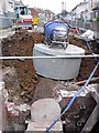 ST6273 : Sewer Repairs Hudd's Vale Rd by Nigel Mykura