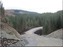 NM9109 : West Loch Awe Timber Haul Route by Patrick Mackie