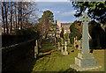 NY3239 : St. Kentigern's Church yard, Caldbek by wfmillar