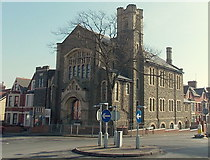ST1067 : Corner view of  Bethel Baptist Church, Barry by Jaggery