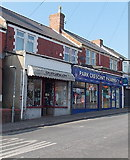 ST1067 : Park Crescent Pharmacy, Barry by Jaggery