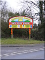 TM5287 : Heathland Caravan Park sign by Adrian Cable